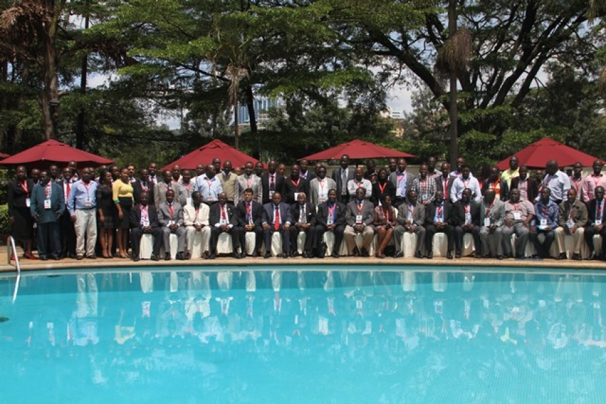 Delegates at a past Institution of Engineers of Kenya International conference